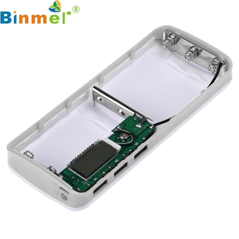 Binmer 3 USB Ports 5V 2A 5x18650 Power Bank Battery Box Charger For iPhone 6s Islamabad
