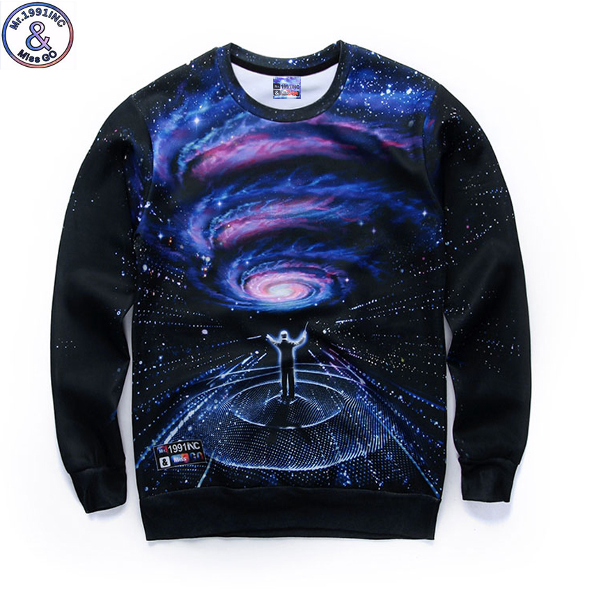 Mr.1991 brand new spring and Autumn thin sweatshirts girls big kids funny 3D Magcal conductor printed jogger hoodies boy W5