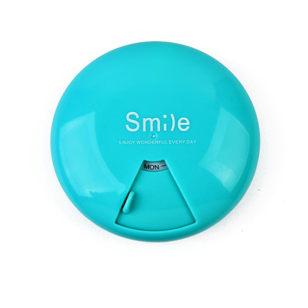 1PC bärbar 7-dagars veckoplappsresor medicin box dispenser kapsel - Sjukvård - Foto 5