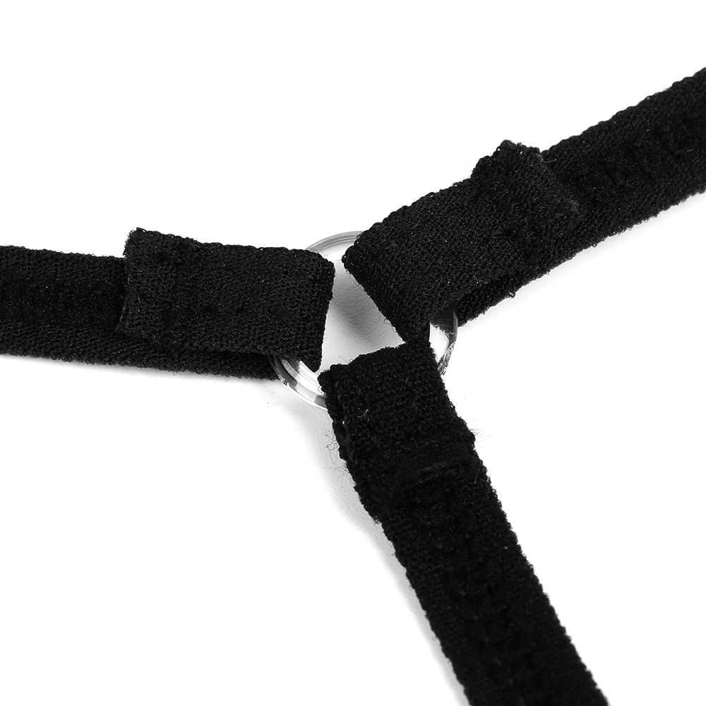セクシーな低ウエストクロス包帯パンティー女性の女性の下着エロマイクロ tバック中空 G ストリング Tバックブリーフ T- バックブラック/ホワイト