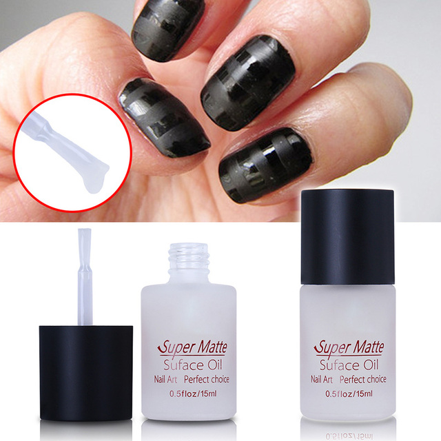 Magic Super Matte Transfiguration Nail Polish Top Coat Frosted ...
