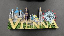 Austria Vienna Souvenir Fridge Magnet