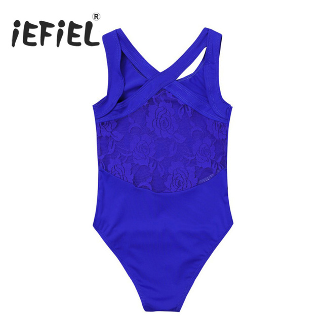 c17f0396156e Aliexpress.com   Buy iEFiEL Girls Sleeveless Tank Leotard Ballet ...