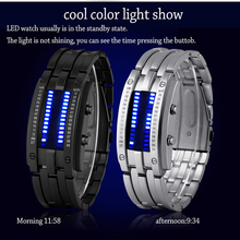 Ladys Sports Watch Luxury Waterproof Electronic Second Generation Binary LED Watches Mens Wrist Clock Hours Women Kid Gift