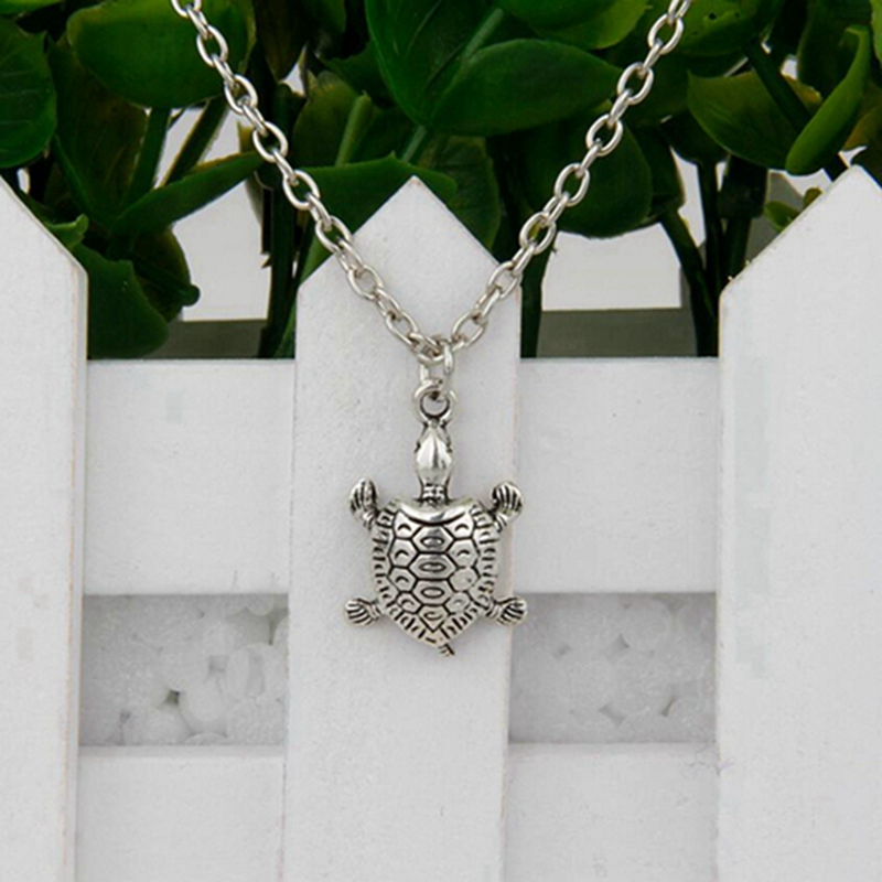Hot Ancient Silver Greyhound Tortoise Squirrel Angel 19 Kind Charm Pendant Short Necklace Women Jewelry Unique Design Gift H121