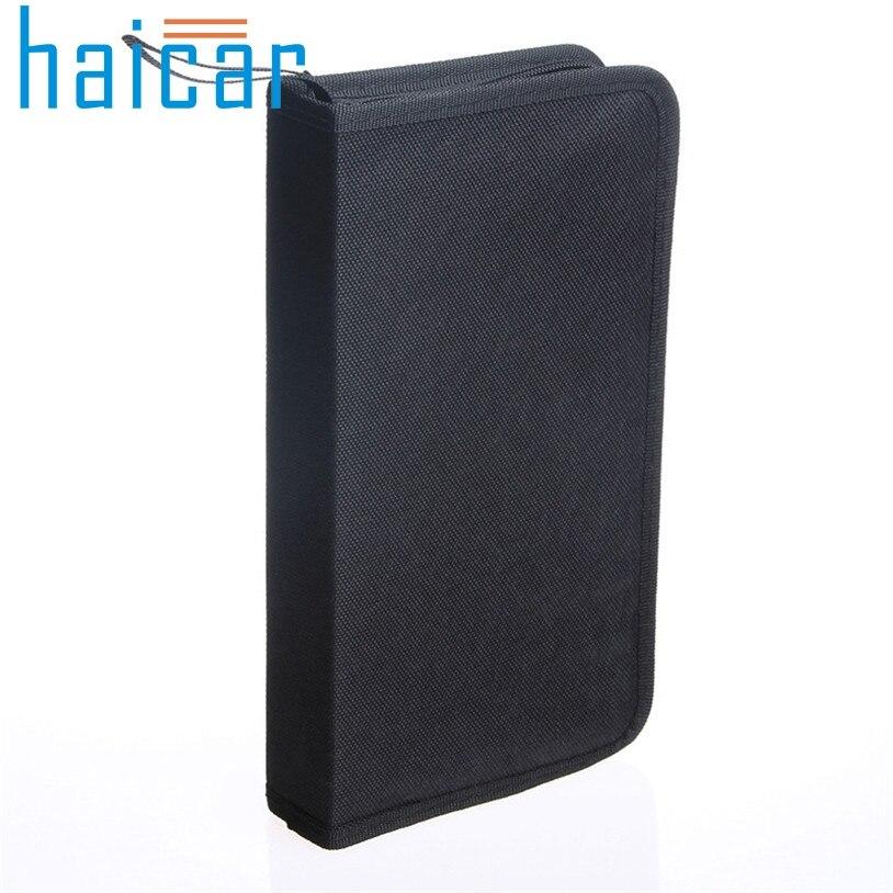 CD VCD DVD 80 Discs Storage Holder Cover Carry Case Bag Orananizer Box U70227