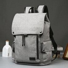 2017, распродажа KPOP моды бренд мужской рюкзак кожаные рюкзаки Мужской школьная сумка для ноутбука строка человек черный/коричневый Водонепроницаемый путешествия