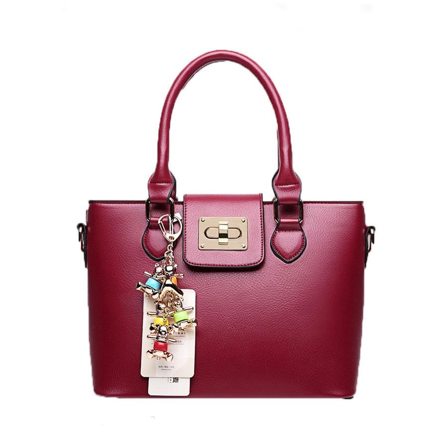 High Quality 2016 Luxury Handbags New Woman Handbags Big Bags Fashion Woman Tote Shoulder Bag
