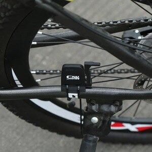 Sunding велотренажер Bluetooth 4,0, беспроводной велотренажер с датчиком скорости и магнитом, черный, водонепроницаемый