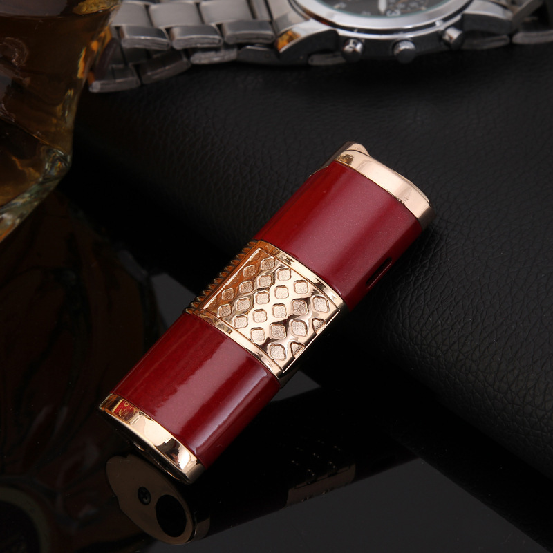 Image 3 - 2019 New Cigar Lighter Pen Torch Turbo Lighter Compact Jet Lighter Gas Windproof All Metal 1300 C Butane No Gas-in Matches from Home & Garden