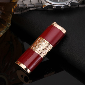 Image 3 - 2019 Nuovo Cigar Lighter Pen Torcia Turbo Accendino Compact Jet Accendino A Gas Antivento All Metal 1300 C Butano No Gas