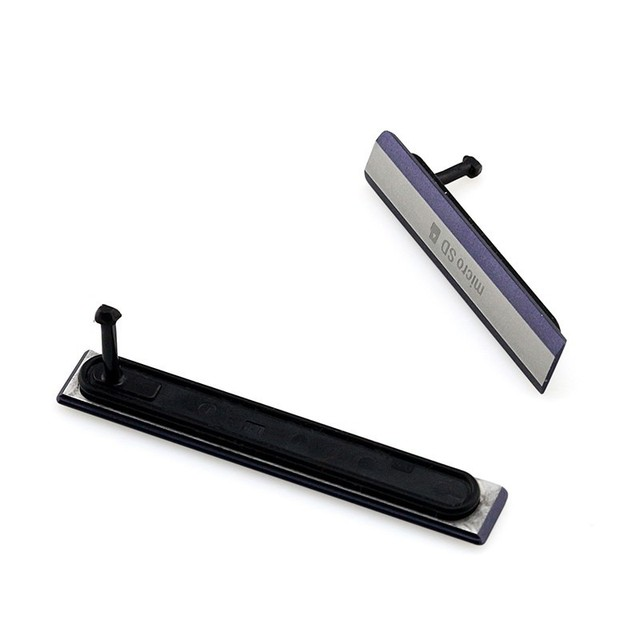 10 Sets/20PCS Original New Micro SD Card + USB Charging Port Cover Flap Dust