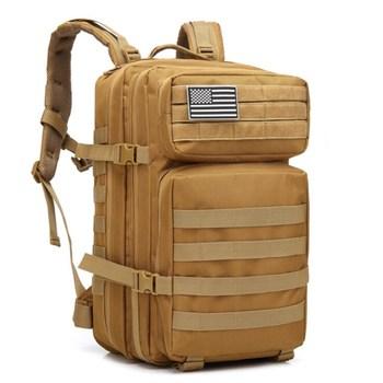 Mochila militar de gran capacidad 45L para hombre, mochila multifunción de nailon 900D, mochila de viaje trasera, mochila militar