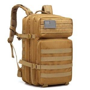 Image 1 - 45L ขนาดใหญ่ความจุ Man กองทัพทหารกระเป๋าเป้สะพายหลัง Multi Function 900D ไนลอนยุทธวิธี Pack Back กระเป๋าเป้สะพายหลัง mochila Militar