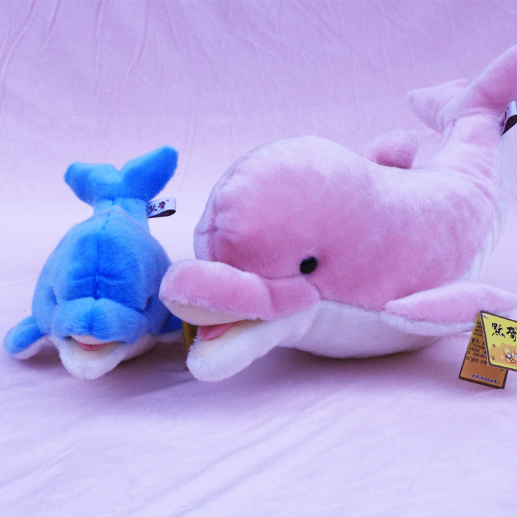 big lovelypink high quality plush dolphin toy new dolphin doll gift about 75cm big plush whale toy big head white foam dolphin doll pillow gift about 70cm