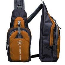 High quality  Mens Shoulder Bag Black