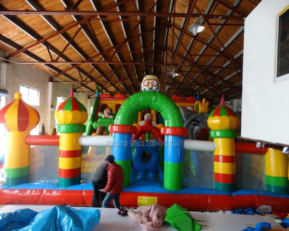 Trampoline d'intérieur gonflable de parc d'attractions d'enfants à vendre