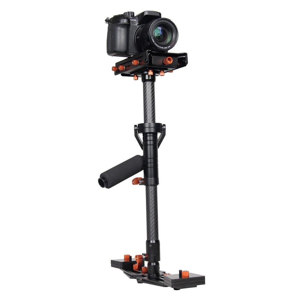 bilder für Hochwertige kohlefaser 80 cm hand stabilizer dslr professionelle steadicam für canon nikon sony digitalkamera camcorder