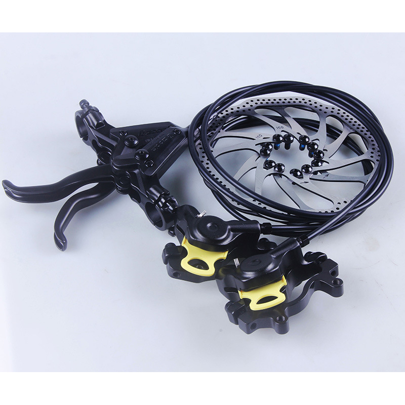 1 Pair HB-870 Mountain Bicycle Hydraulic Disc Brake Kit MTB Brake Bike Parts with Rotor shimano slx bl m7000 m675 hydraulic disc brake lever left right brake caliper mtb bicycle parts
