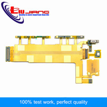 Lijiang High Quality Power On/Off Volume Button Switch Flex Cable For Sony Xperia Z3 D6603 D6643 D6653 Free Shipping