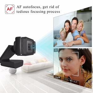 Image 3 - HXSJ new webcam HD1080P 30FPS auto focus computer camera USB sound absorbing microphone for laptops web cam
