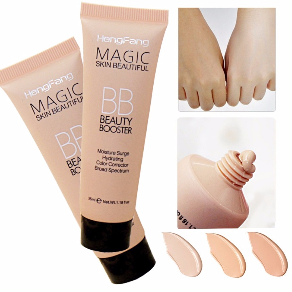 Face Brighten Base Foundation BB Cream Long Lasting Waterproof Concealer Moisturizing Whitening Make Up Korean TSLM2 image