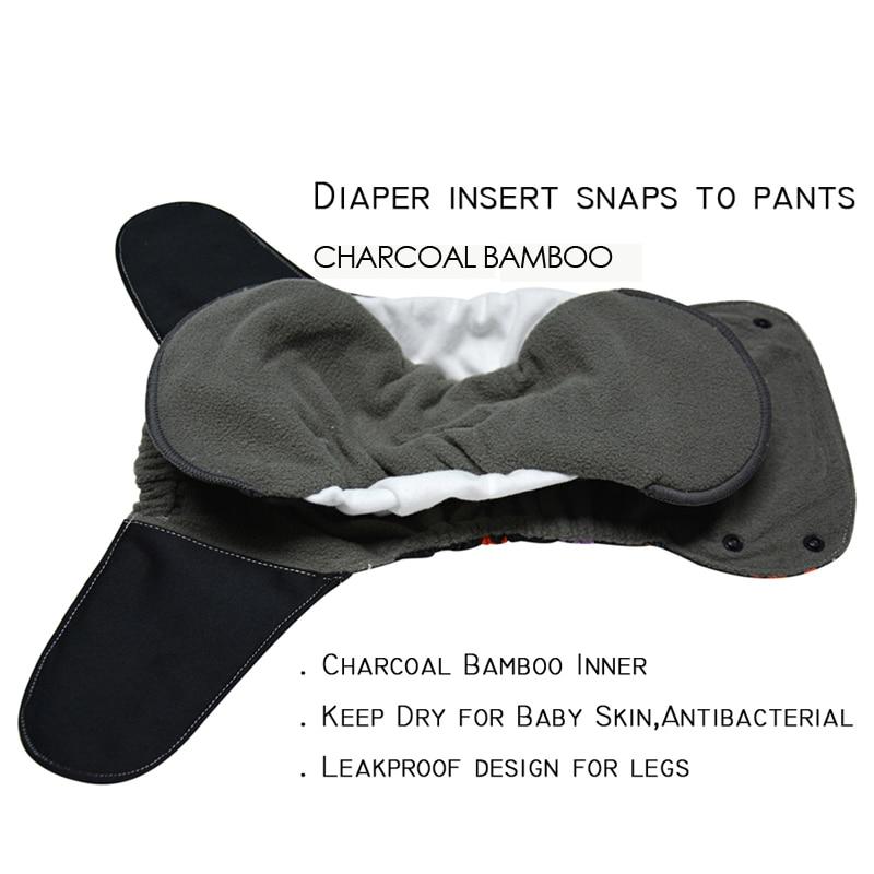 Pañales de bebé JinoBaby OS Bamboo - - Pañales y entrenamiento para ir al baño - foto 6