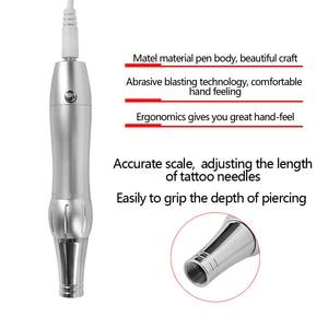 Image 3 - Tattoo Machine Kit set digital Permanent Makeup Tattoo device kit Professional Siwss Motor Tattoo Power Supply for Eyebrow Lip