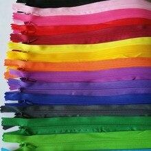 Можете выбрать цвета, 10 шт. невидимые молнии 60 см назад подушки юбка Скрытая молнии DIY Материал для шитья/ аксессуары для одежды