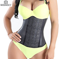 Shapewear Latex Waist Trainer Belt Slimming Waist Cincher Hot Body Shaper Tummy Trimmer Long Torso Girdle Corset Modeling Strap