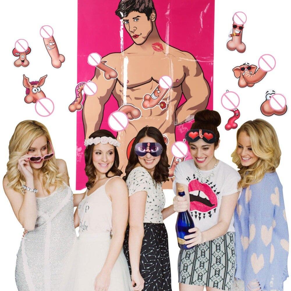 Wonderbaar OurWarm Bridal Party Bachelorette Party Games Girls Bachelor Party JV-71