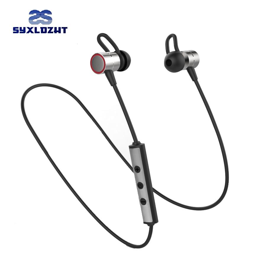 Bluetooth Earphones Wireless Headset Metal Magnetic Sport Cordless Headphones Super Bass Bluetooth Earbuds Handsfree With Mic