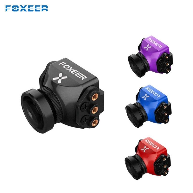 Foxeer Standard/Mini prédateur 4 Super WDR 4 ms latence 1000TVL OSD 4:3 16:9 NTSC PAL FPV Mini caméra pour RC modèles Multicopter