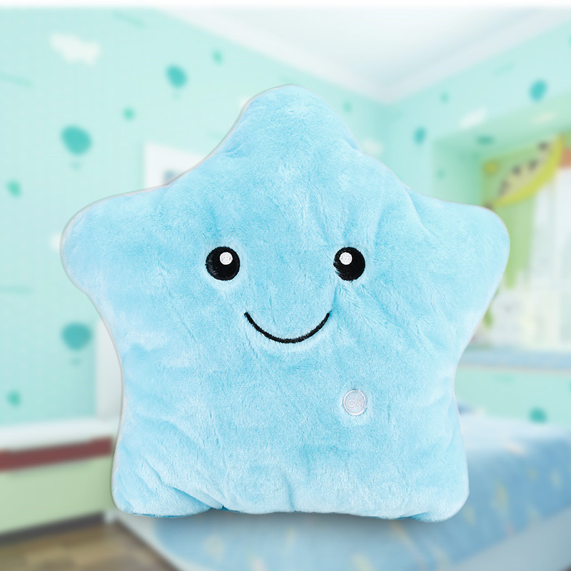 Toys & Hobbies Plush Light - Up Toys Creative Luminous Love Pillow Cushion Colorful Glowing Pillow Plush Doll Led Light Toys Gift For Girl Kids Christmas Birthday