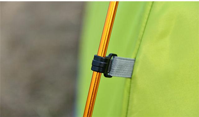 Aluminium Alloy Camping Rods Set
