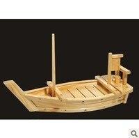 Шираки Корейский Японский древесины Суши Лодка дракона лодка стержень поставки сашими Япония суши деревянный лодка льда