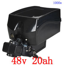 США ЕС нет налога 48 В 20ah литий-ионный Электрический велосипед батарея 48 В 1000 Вт Электрический велосипед аккумулятор с 30A BMS для F rog ebike и 2A зарядное устройство