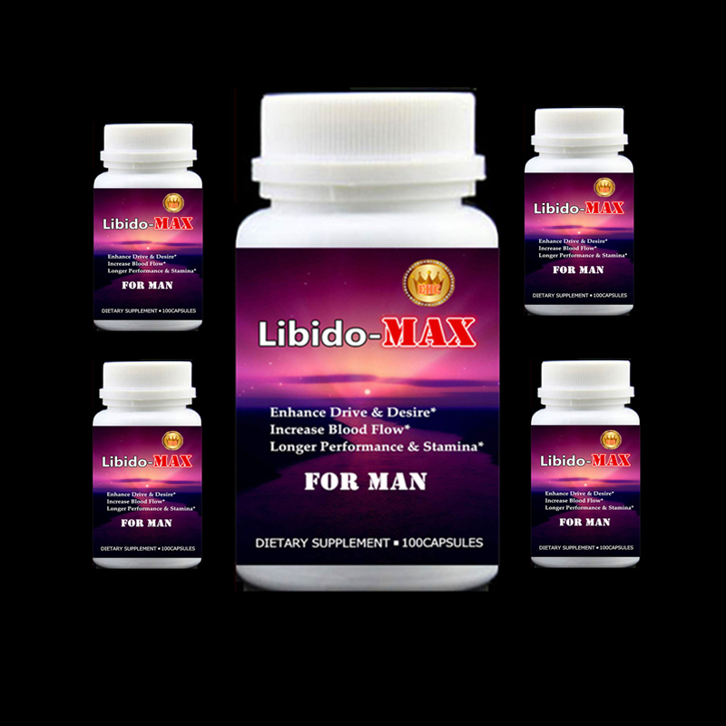 все цены на  Libido-Max Male Sexual Supplement 5 bottles(500Pills) Increase sexual desire adult sex machine Longer Performance & Stamina cekc  онлайн