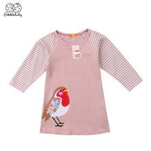 5780ce314121 Cute Kids Baby Girls Dress Bird Party Dress Costume with Accessories Children  Girl Cartoon Dresses 6M-7Y