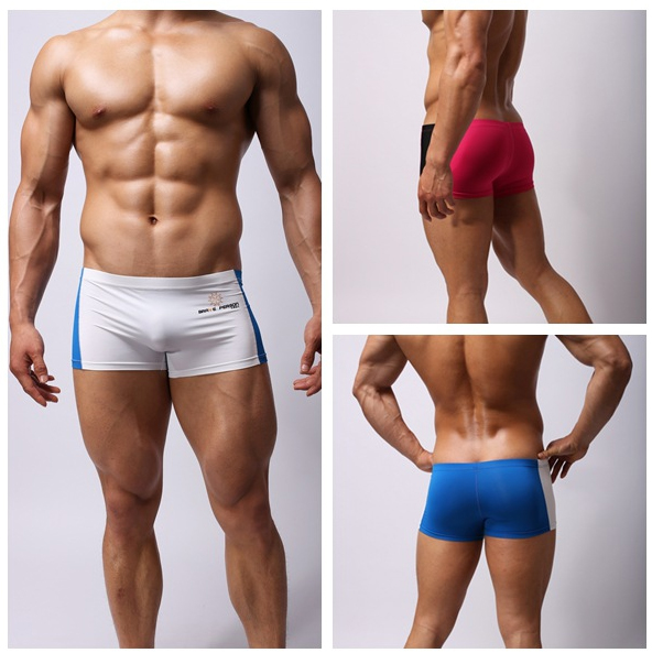 BRAVE PERSON Mens Boxer Shorts Splice Design Super soft High Quality Underwear Men Boxers Thin Breathable Male Underpants