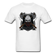 15cc504205f 3XL Europe Tee-Shirt The Beard Thing Skull Tshirts Short Sleeve Classic Male  Tops Tees Crew Neck 100% Cotton Casual T Shirt Mens