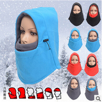 Face Skullies Beanies Mask Motorcycle Fleece Winter Warm Beanies Hats Colorful Neck Warmer skullies