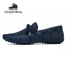 Men casual shoes luxury brand air mesh large size 46 docksides deck boat shoes summer breathable flat slip ons loafers moccasins