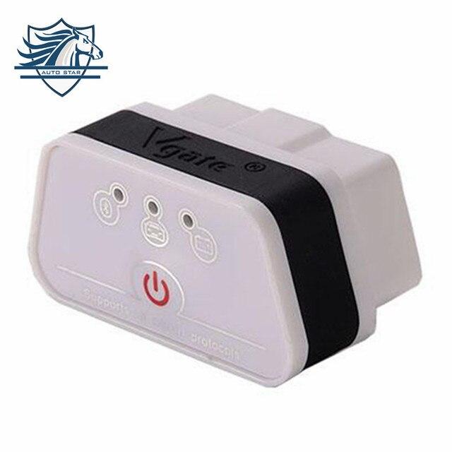 Самые Продаваемые Новое Прибытие икар Vgate iCar2 Bluetooth Сканер OBD 2 elm327 Bluetooth Диагностический Интерфейс с Бесплатной Доставкой