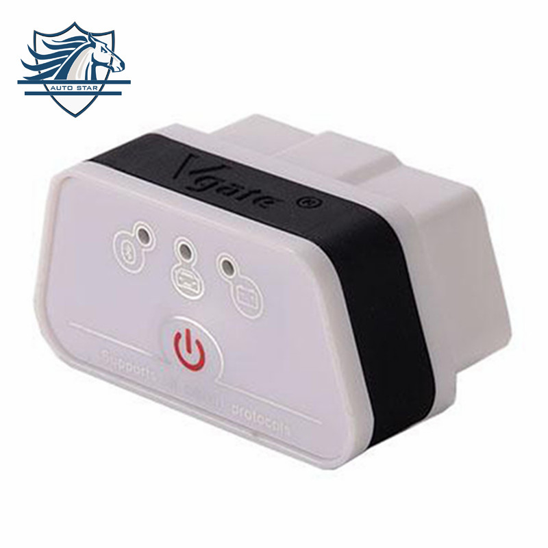 Top Selling New Arrival Vgate iCar2 Bluetooth OBD Scanner iCar 2 elm327 Bluetooth Diagnostic Interface with Free Shipping