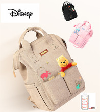 2019 Disney Diaper Bag Backpack USB Bottle Insulation Bags Minnie Mickey Big Capacity Travel Oxford Feeding Baby Mummy Handbag disney new upgraded version mickey and minnie insulation bag top capacity baby feeding bottle bags diaper bags oxford usb bags