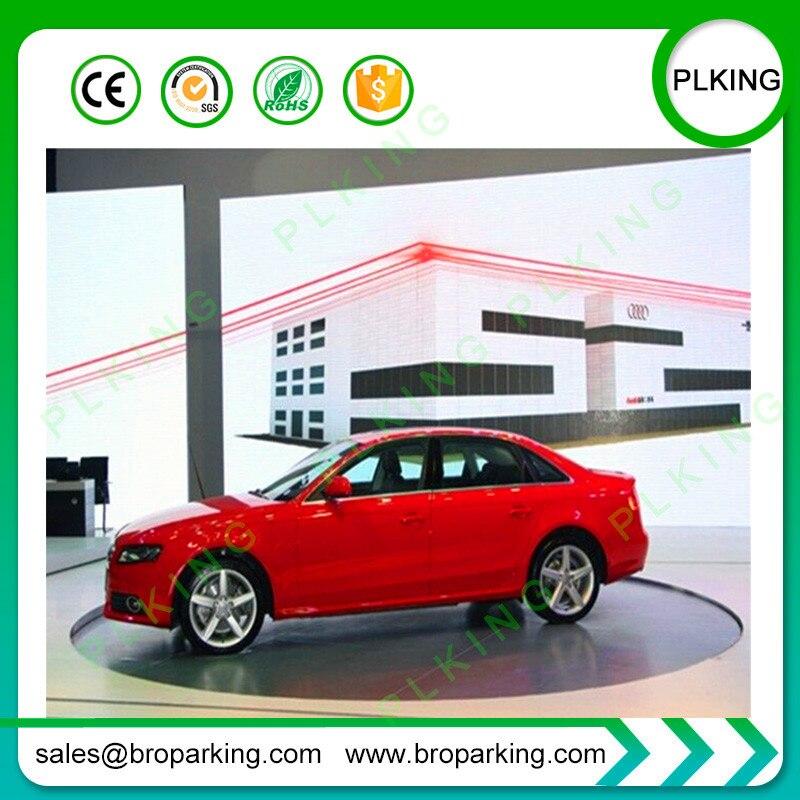 Car Display Equipment Rotary Car Turntable Lift Platform