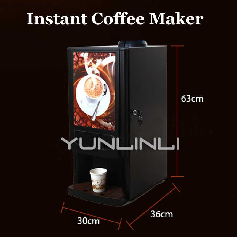 Офисный полный автомат для приготовления растворимого кофе машина для молочного чая Интегрированная машина 220V Muitl-функциональная Кофеварка SC7902w2