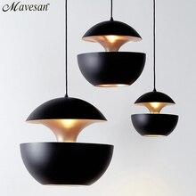 Горячие продажи подвесные светильники светильник кухня свет с E27 держатель лампы внутри золотой для жизни столовая кухня подвесные светильники