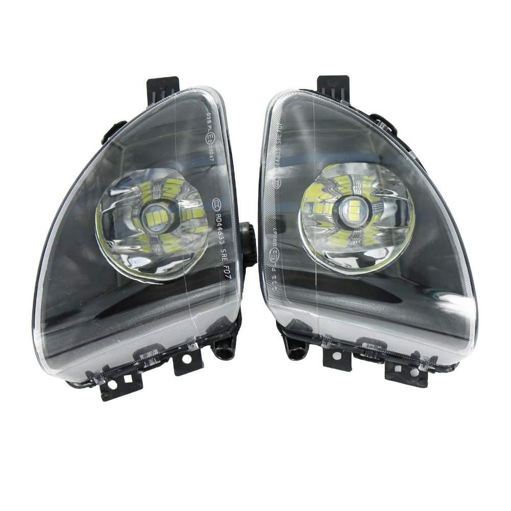 цены 2Pcs For BMW F10 F11 520i 523i 528i Front LED Fog Light Fog Lamp 63177216885 63177216886